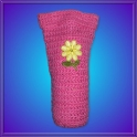 Funda Crochet 60ml. Flor