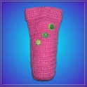 Funda Crochet 60ml. 3 Flores