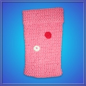 Funda Crochet 60ml. 2 Flores
