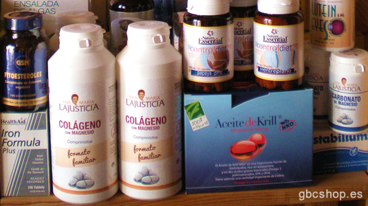 GBC SHOP - Suplements Nutricionals