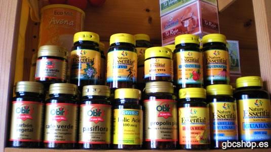 GBC SHOP - Suplements Nutricionals